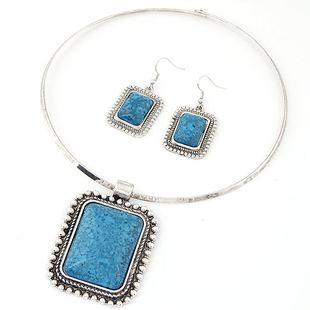 Nueva moda bohemia joya collar collar conjunto yiwu nihaojewelry al por mayor NHSC210458's discount tags