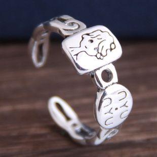 Mode rétro bande dessinée anneau ouvert yiwu nihaojewelry gros NHSC210457's discount tags