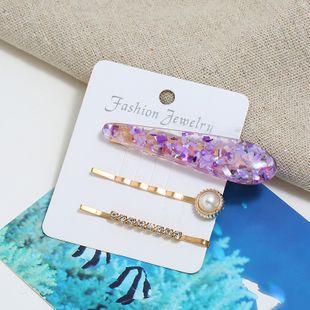 Nueva combinación coreana de tres piezas de horquilla simple y barata yiwu nihaojewelry al por mayor NHSC210446's discount tags