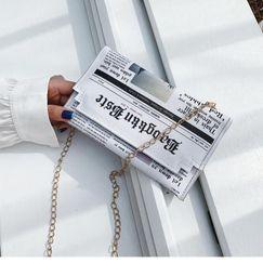 Sobre simple bolsa de embrague al por mayor yiwu nihaojewelry nueva bolsa de impresión femenina cadena de moda hombro bolsa de mensajero NHGA210236