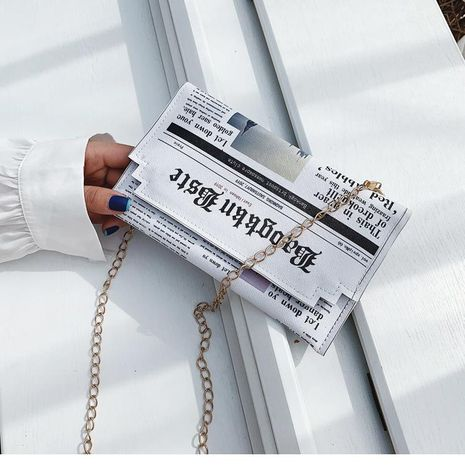Simple enveloppe d'embrayage sac en gros yiwu nihaojewelry nouveau sac féminin impression mode chaîne épaule messenger sac NHGA210236's discount tags