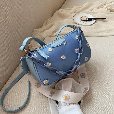 Sac pour femme Yiwu Nihaojewelry en gros nouvelle mode dames sac messager simple épaule unique aisselle sac NHTC210401's discount tags