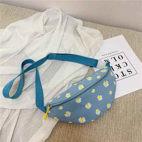 Daisy toile sac yiwu nihaojewelry en gros nouveau fille poitrine sac bandoulière sac NHTC210406's discount tags