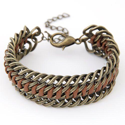Fashion metal exaggerated bracelet yiwu wholesale NHSC207144