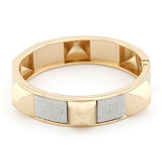 Fashion punk rivet bracelet yiwu wholesale NHSC207137