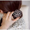 Korean fashion sweet flash diamond hollow roses cheap hair scrunchiesyiwu wholesale NHSC207121