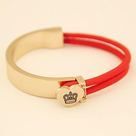 Mode coréenne Couronne en métal amour Bracelet élastique Yiwu gros NHSC207479's discount tags