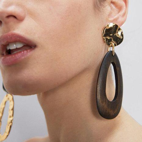 Mode alliage résine rétro couture boucles d'oreilles nouvelles boucles d'oreilles simples femmes NHJQ206537's discount tags