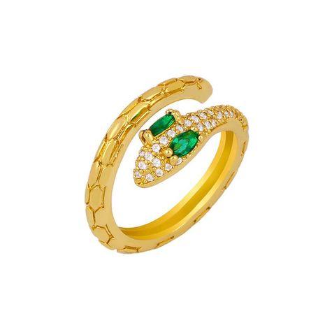 Bague serpent simple diamant ouverture serpent ajustable femelle NHAS206556's discount tags