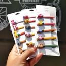 Small hairpin headdress clip Korean ins hairpin bangs BB clip side clip clip top clip NHSA206584