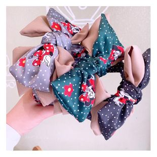 Korean retro style three-tier big bow wave point stereo changeable cheap headband wholesale NHHD206632's discount tags