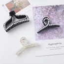 Pearl Hair Clip Acrylic Black Elegant Hair Clip Bow Cheap Hair Clip Hair Accessories NHDM206655