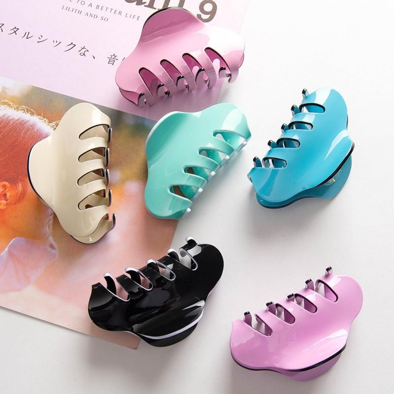 Korean New Fashion Large Candy-colored Grab Clip Hair Clip Acrylic Disk Hair Cheap Card NHDM206658