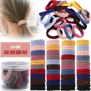High elastic minimalist canned cheap scrunchies wholesale NHPJ206701's discount tags