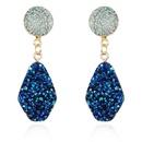 Nuevos pendientes de piedra natural de imitacin de moda pendientes largos de color al por mayor NHGO206704