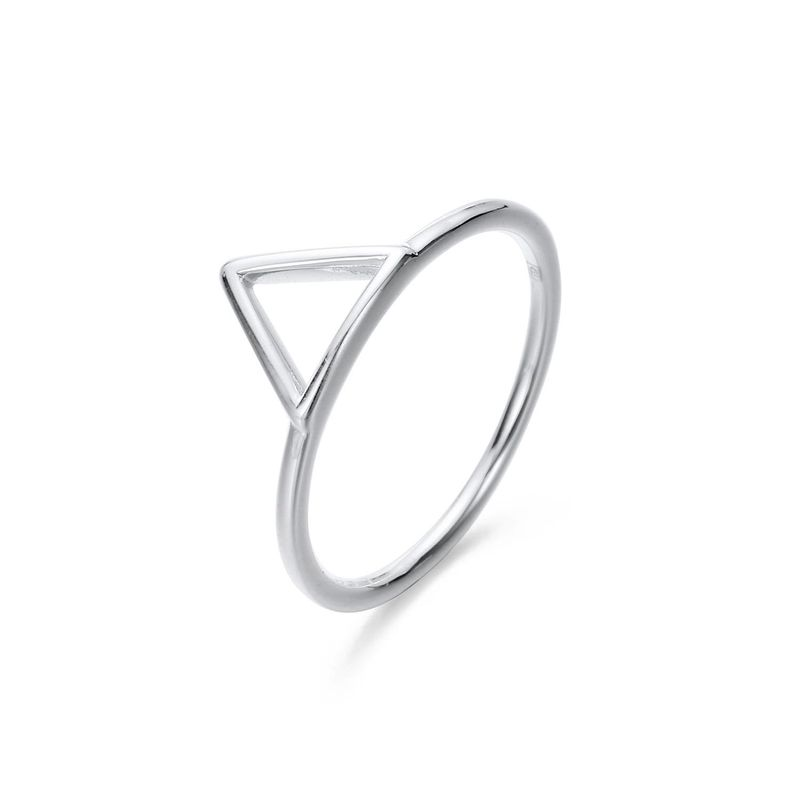 Stainless steel ring female Korean new fashion simple wild ring wholesale NHJJ206708