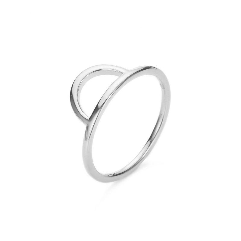Stainless steel ring female Korean new fashion simple wild ring wholesale NHJJ206712
