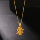 New fashion simple cute angel baby pendant female necklace wholesale NHJJ206741