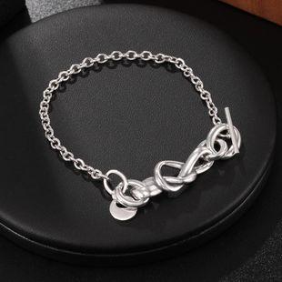 Jewelry Wholesale S925 Sterling Silver Bracelet Fashion Women's Bracelet NHUI206760's discount tags