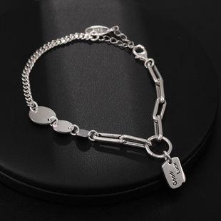New Silver Jewelry S925 Sterling Silver Bracelet Wholesale Women's Bracelet NHUI206766's discount tags
