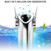 Hot portable negative ion air purifier necklace portable oxygen bar car purifier air purifier NHAT206859