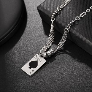New Fashion 925 Sterling Silver Necklace Women Fashion Silver Pendant Necklace Wholesale NHUI206800's discount tags