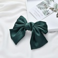 NHDM597247-C138-Satin-Double-Bow-Hair-Clip-Dark-Green