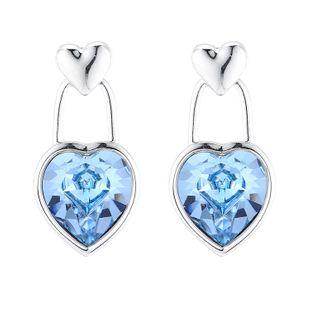 New Love Crystal Earrings NHSE206855's discount tags