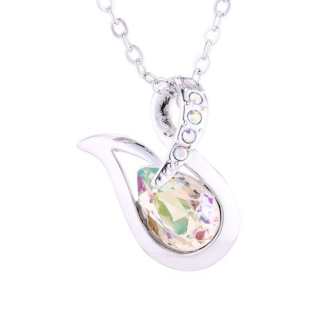 New simple crystal necklace wholesale NHSE206856's discount tags