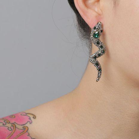 Nouvelle mode rétro boucles d'oreilles en forme de serpent pour les femmes en gros NHJJ210484's discount tags
