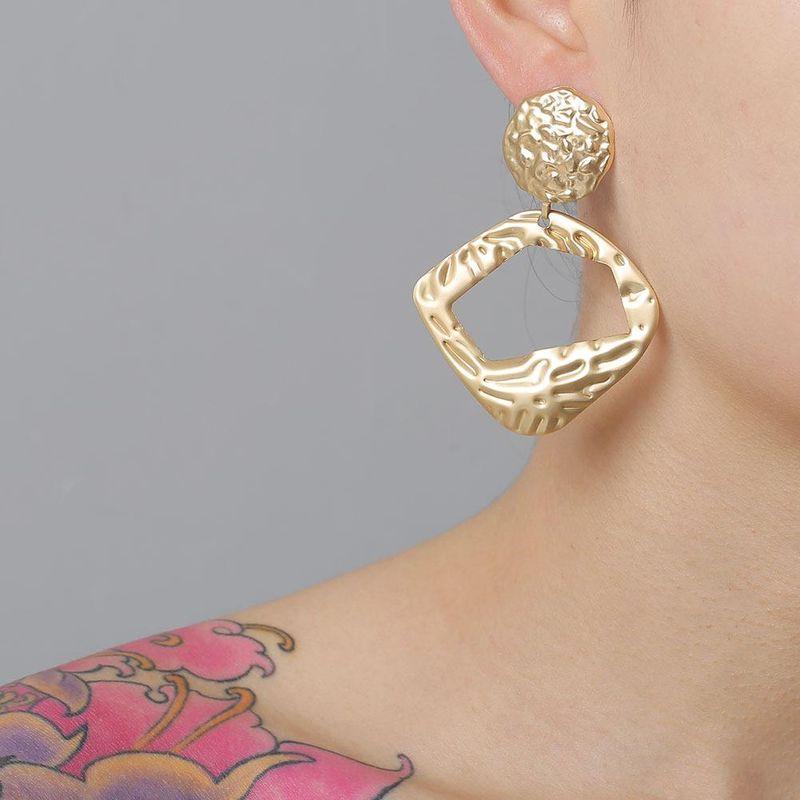 New fashion retro trend big earrings for women wholesale NHJJ210489