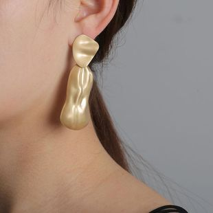New fashion retro alloy geometric exaggerated earrings for women wholesale NHJJ210498's discount tags