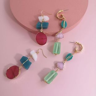 New fashion irregular earrings for women wholesale NHJJ210529's discount tags
