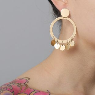 New fashion retro trend earrings for women wholesale NHJJ210532's discount tags