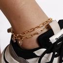 Nouveau sauvage gomtrique arcenciel contraste couleur zircon pied ornements licorne micro incrustation combinaison cheville pour femmes en gros NHXR210601