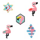 New fashion Miyuki Mizhu handwoven flamingo pattern accessories wholesale NHGW210652