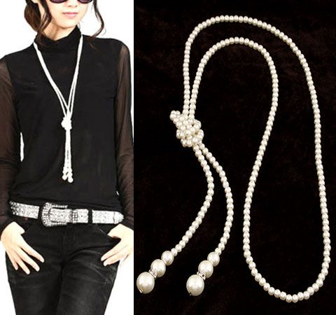 Excellente perle simple super long collier Yiwu nihaojewelry gros NHSC211318's discount tags