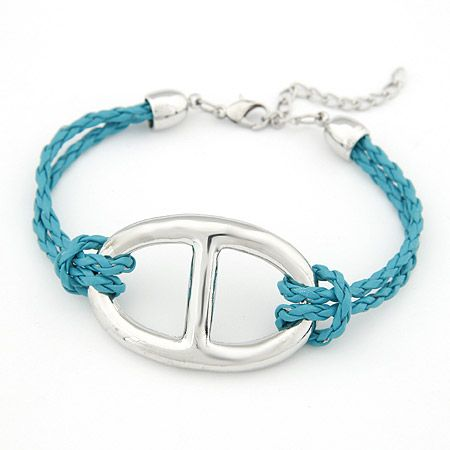 New fashion simple woven bracelet yiwu nihaojewelry wholesale NHSC211294's discount tags