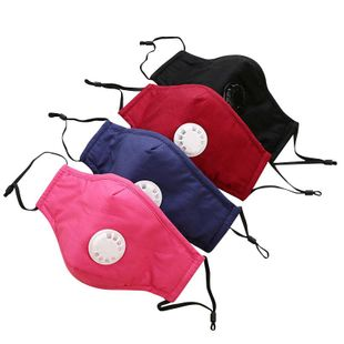 PM2.5 cotton masks dust and smog protective masks breathing valve masks wholesale NHLL210800's discount tags