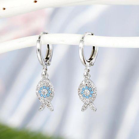 Nouveau mode micro diamant boucles d'oreilles animal zircon boucles d'oreilles NHGO210853's discount tags