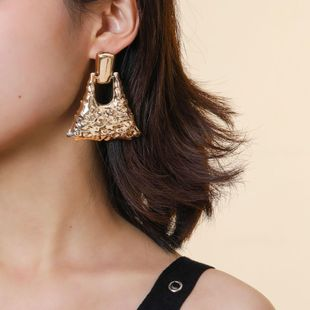 New fashion water drop geometric punk earrings wholesale NHPV210890's discount tags