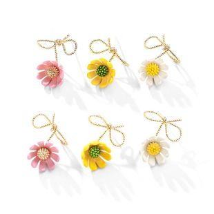 New fashion 925 silver needle small daisy wild cute sweet flower earrings wholesale NHPP210905's discount tags
