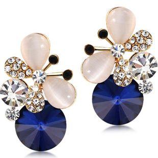 Nuevos pendientes de moda clips de oreja pendientes de diamantes dulces al por mayor NHPP210930's discount tags