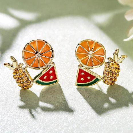 Nouvelle mode 925 argent aiguille simple fruits série boucles d'oreilles en gros NHPP210937's discount tags