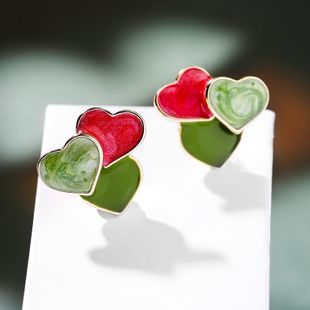 New Fashion 925 Silver Post Fashion Love Stud Earrings Wholesale NHPP210940's discount tags