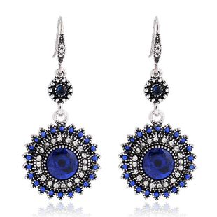 New fashion retro bohemian sun flower earrings wholesale NHKQ210946's discount tags