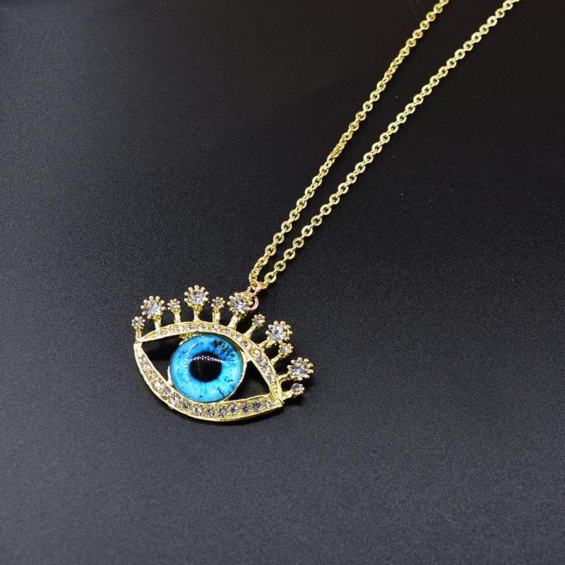 New fashion devil eye necklace pendant wholesale NHNT210991