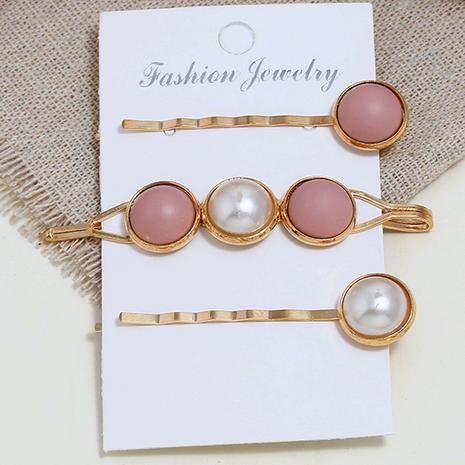 Nueva moda coreana accesorios simples simple combinación de tres piezas horquilla yiwu nihaojewelry al por mayor NHSC211281's discount tags