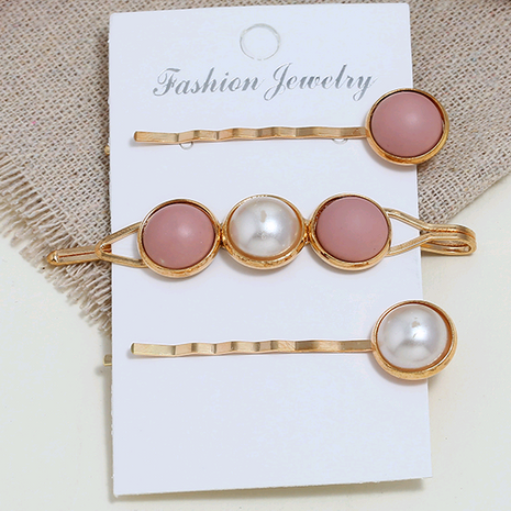 Korean new fashion simple accessories simple three-piece combination hairpin yiwu nihaojewelry wholesale NHSC211281's discount tags