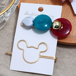 Korean new fashion simple accessories animal two-piece combination hairpin yiwu nihaojewelry wholesale NHSC211278's discount tags